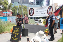 Yes we are still talking about Black deaths in custody at Commemoration of Tunnerminnerwait and Maulboyheener - IMG_2809