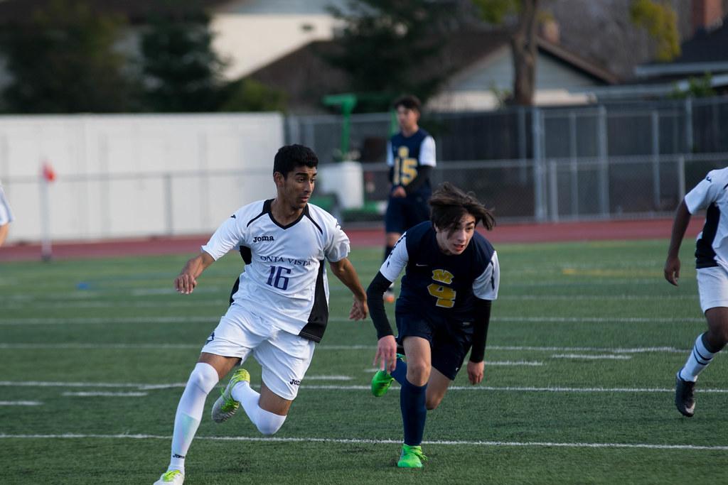 Boys soccer vs. Milpitas HS