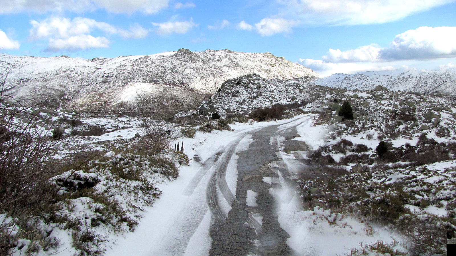 Plateau de Cuscione mars 2016