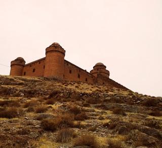 Il Castillo de La Calahorra dall'esterno