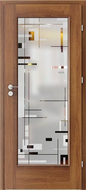 Pískované sklo KPZ18