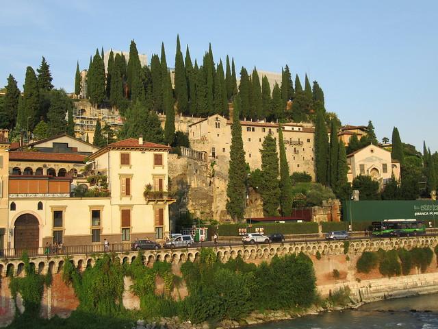 Linkes Ufer der Etsch (Adige)