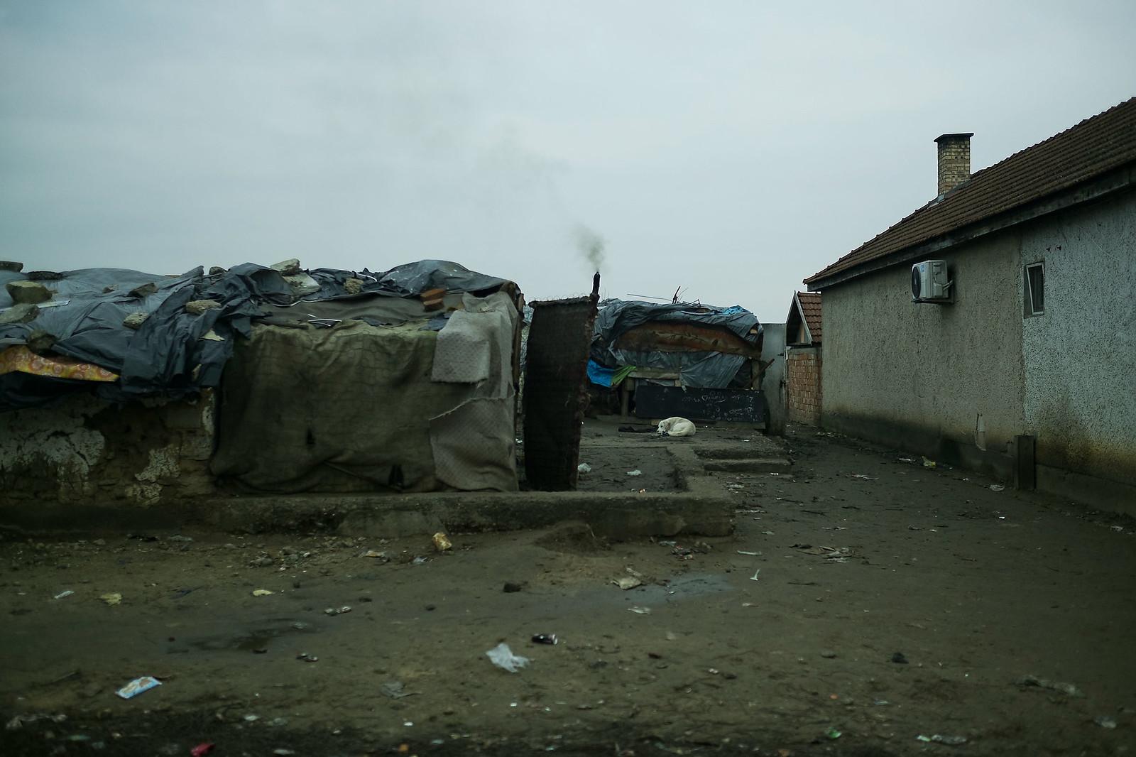 Az ópályi cigánysor egy részlete | Fotó: Magócsi Márton