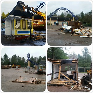Entrance Kiosk Demolition