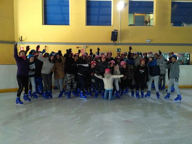 Patinaje sobre hielo en Benalmádena, ciclo y aerobox