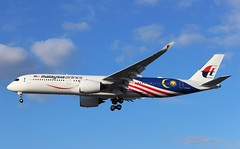 9M-MAC Airbus A350-941 Malaysia Airlines