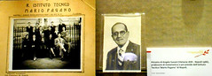Portrait of Angelo Susani (Venice 1878-Naples 1966), headmaster of institute Mario Pagano in Naples, removed because jewish -  The Jews persecution in Italy - Exhibition at Stock Exchange Palace in Naples, up to February 23, 2018. Free admittance.