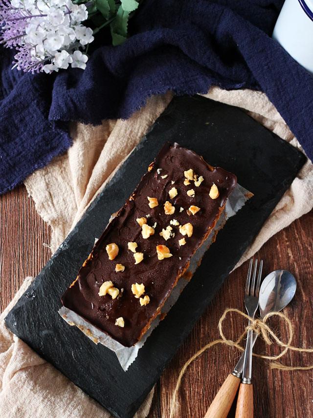 巧克力香料南瓜焦糖條 Chocolate Spiced Pumpkin Caramel Bars (5)