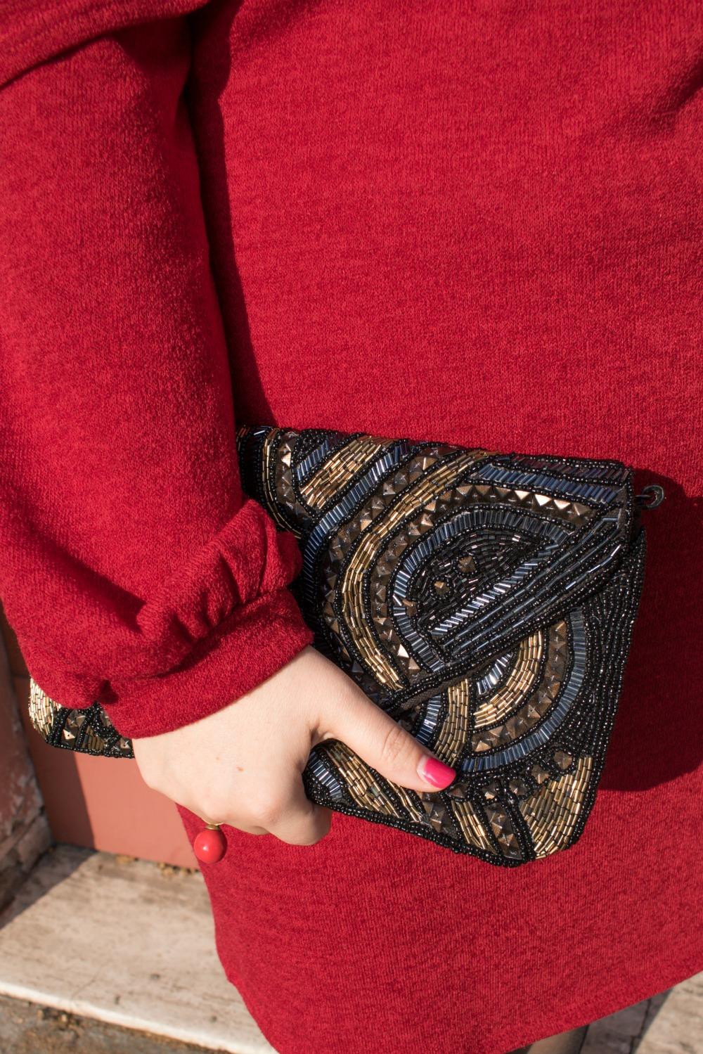Outfit plus size per san valentino, rosso e nero (4)