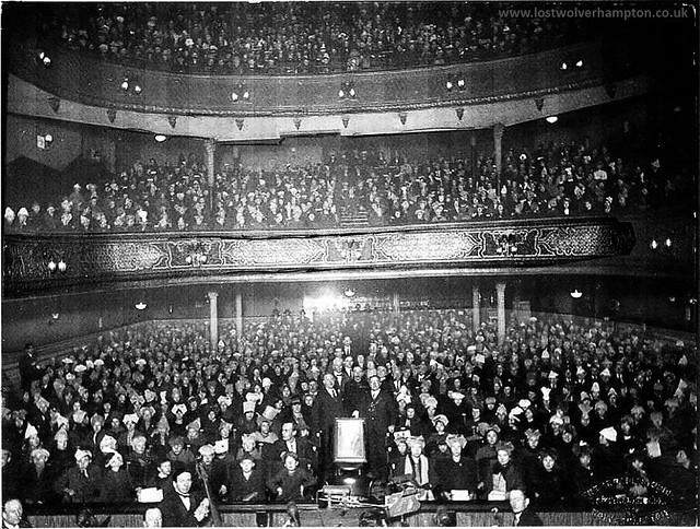 Wolverhampton Hippodrome Interior 1930s