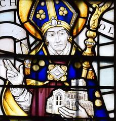St Nicholas holds Denston church
