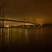 Forth Road Bridges at Night