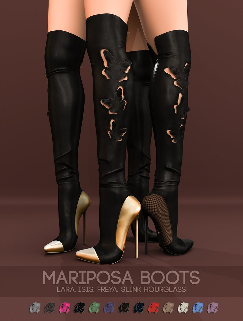 Pure Poison – Mariposa Boots AD
