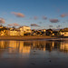 Broadstairs reflected in the early sun.