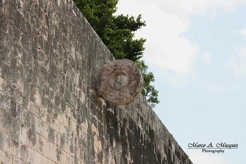 Wall of skulls, Chichen Itza