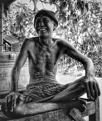 The universal language of smiling ...  Street photography in rural Cambodia