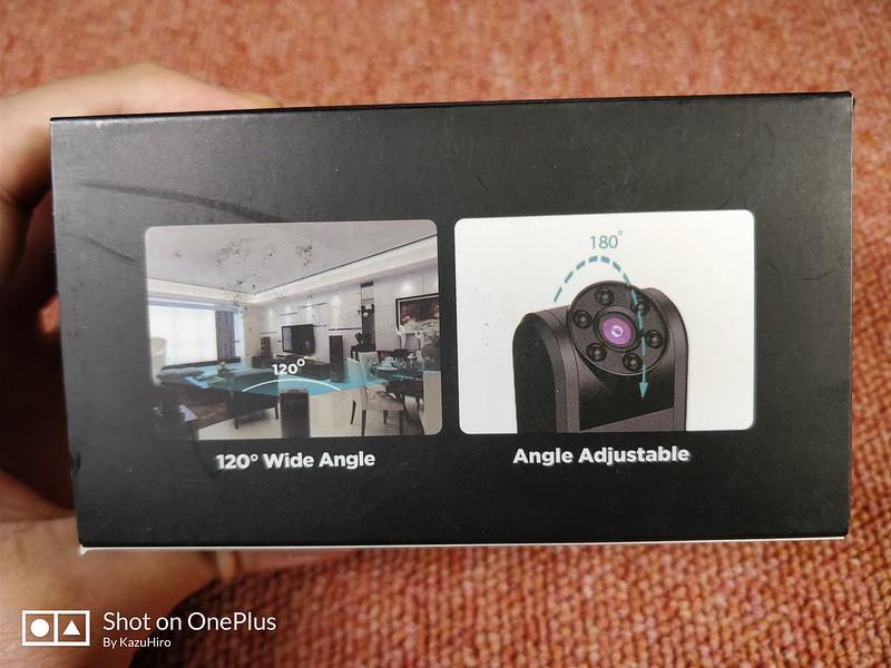 Conbrov 小型カメラ 赤外線センサー レビュー (4)