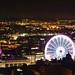 YELLOW NOTTINGHAM City Night Street View-7261