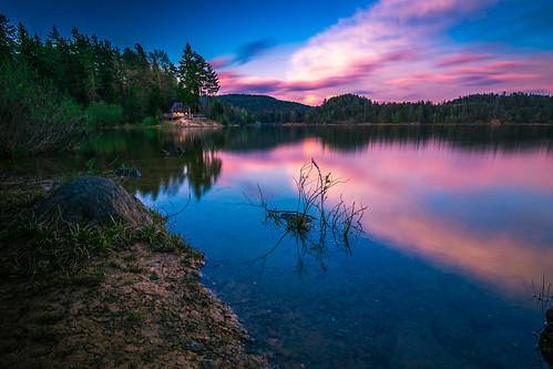 Sunset Forstsee