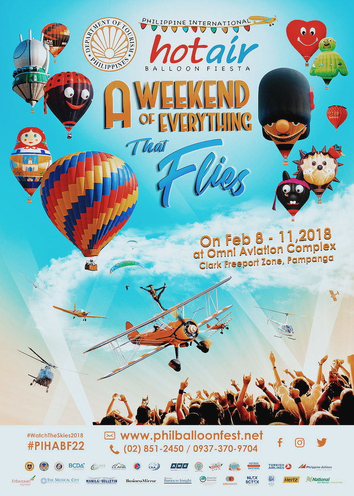 10 Cool Things to Do at the 2018 Philippine International Hot Air Balloon Fiesta + Tickets Giveaway