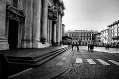 Piazza del Duomo, Brescia, Italy