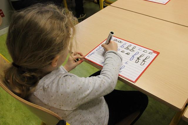 « CP dédoublés » en REP+: visite du recteur à l'école élémentaire Henri IV à Bordeaux