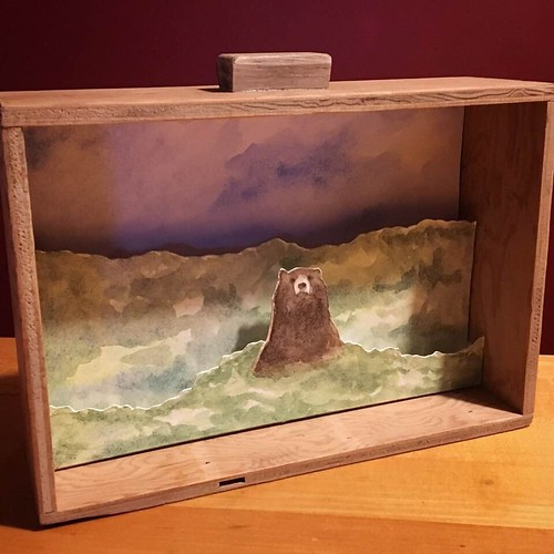 Brown Bear Diorama