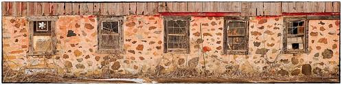Five Old Barn Windows