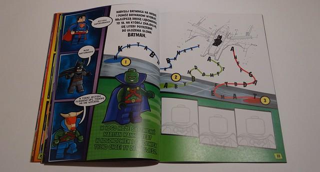 RECENZJA DC Comics Superksięga zadań 8