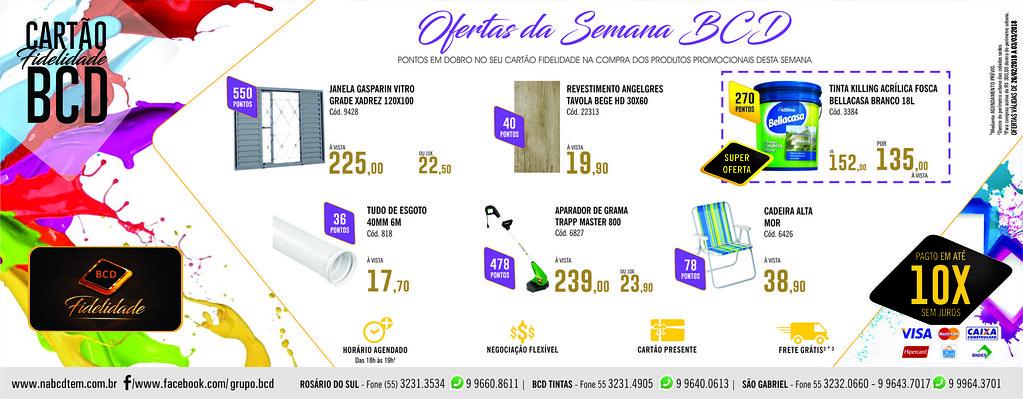 Ofertas semana BCD São Gabriel