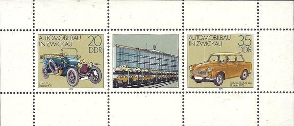 DDR Zwickau Car Industry 2154‑2155