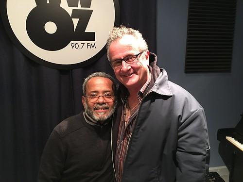 John Boutte and Paul Sanchez at WWOZ - Jan. 2018