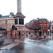 Nelson's Column (base) , Trafalgar Square, London. by Fred Fanakapan