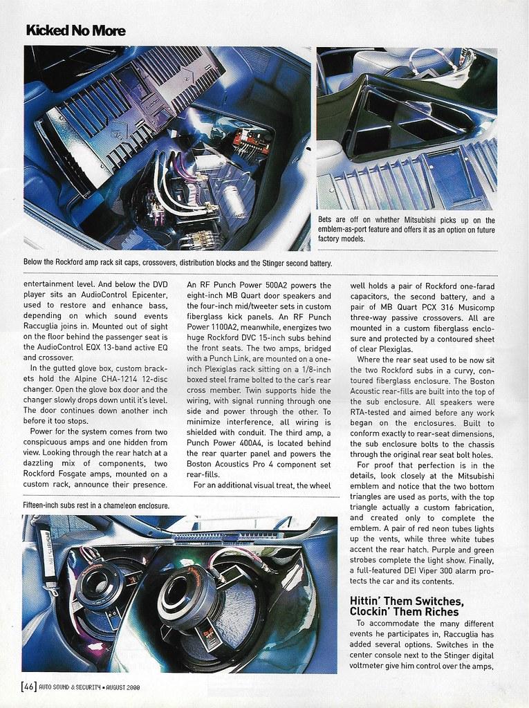 Frank Raccuglia - 1995 Mitsubishi Eclipse GSX - 2000 AS&S