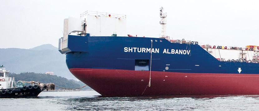 Нефтяной танкер Штурман Албанов Shturman Albanov