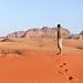 2. Contemplando desde lo alto de las dunas los paisajes de Wadi Rum, uno de los desiertos más bonitos del mundo