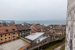 A chilly February day in Nyon.