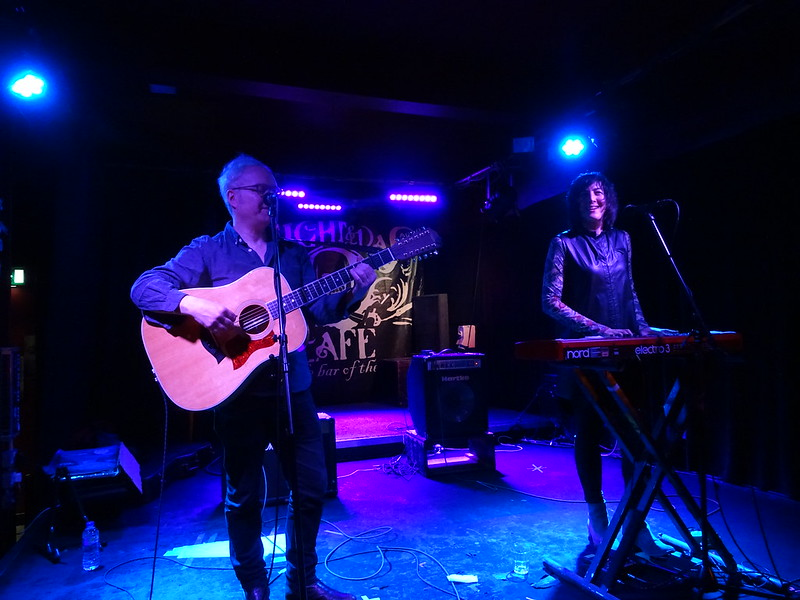 Damon & Naomi at the Night and Day Cafe, Manchester - February 2018