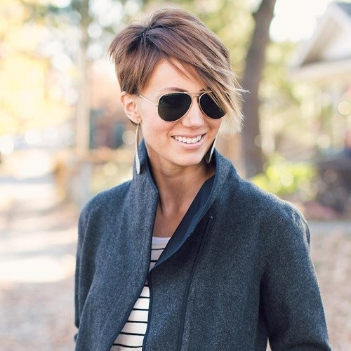 The Latest Trends Of Short Choppy Haircuts 2018 Nails C