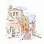 Venezia, Campo de le Gorne, Italia