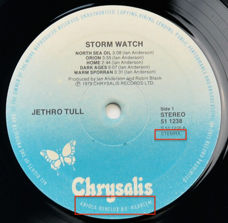 A0525 JETHRO TULL Storm Watch