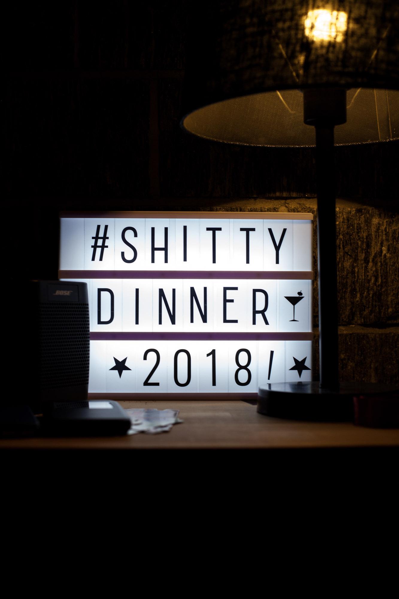 shitty dinner
