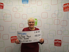 Susan Poole - $50,000 - 24 Karat Gold - Boise - Jacksons