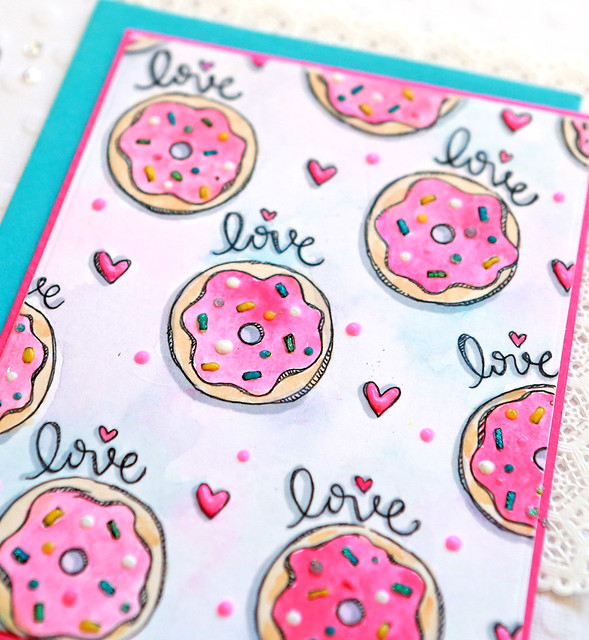 love donuts close up