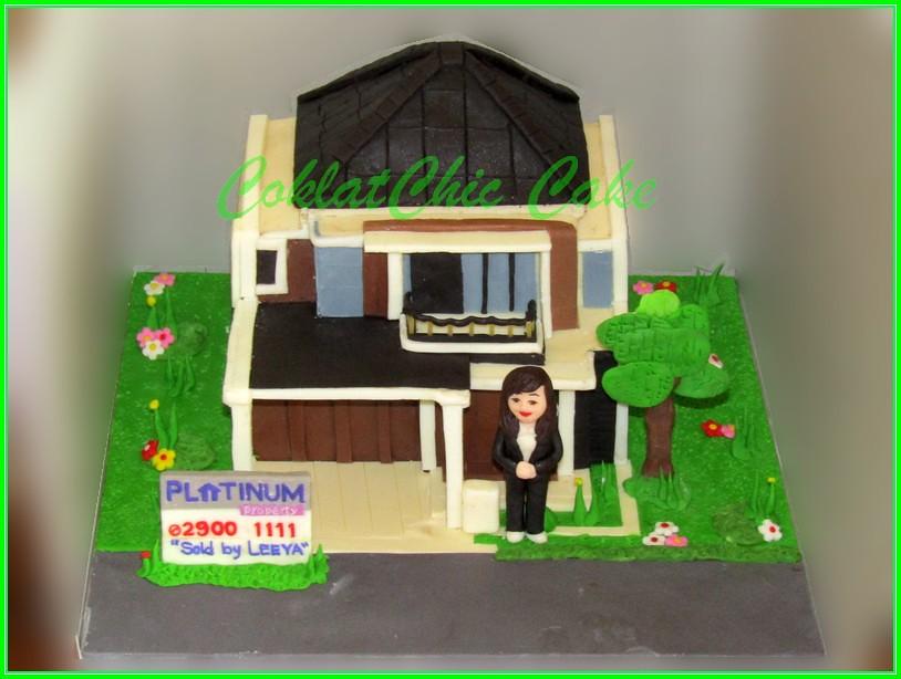 Cake Agen Rumah LEEYA 15 cm