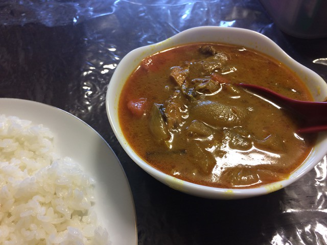 Curry made from Spices