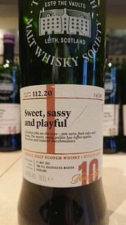 SMWS 112.20 - Sweet, sassy and playful