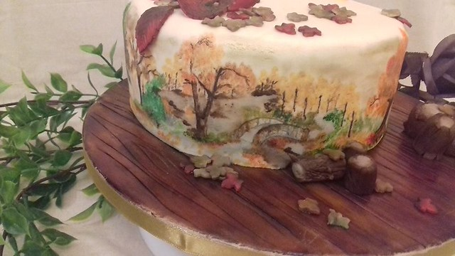 Autumn Walks from Cakes by Tania Martin