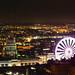 YELLOW NOTTINGHAM City Night Street View 2-7252