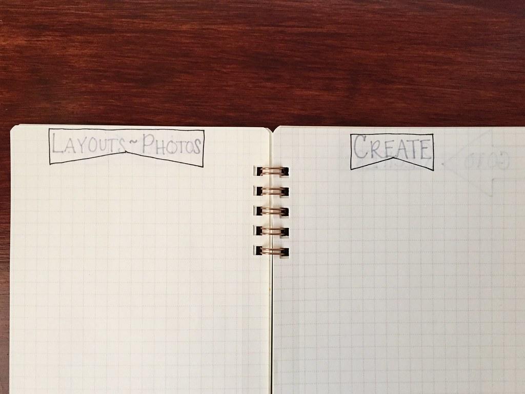 bujo layout